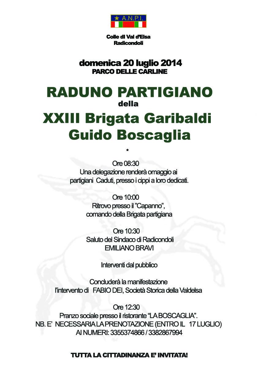 Brigata Boscaglia 2014